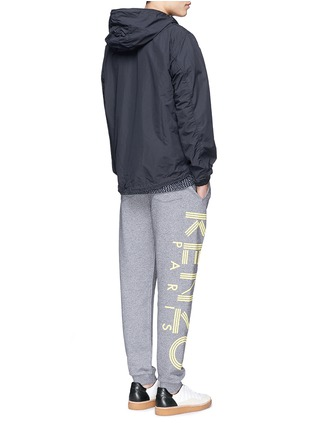 Figure View - Click To Enlarge - KENZO - Rubberised logo print sweatpants