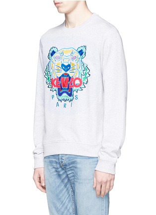 Front View - Click To Enlarge - KENZO - Tiger print sweatshirt