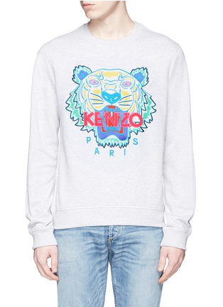 Main View - Click To Enlarge - KENZO - Tiger print sweatshirt
