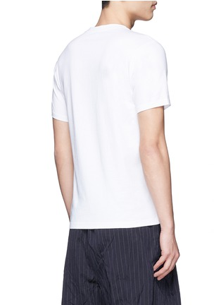 Back View - Click To Enlarge - KENZO - Travel tag print T-shirt