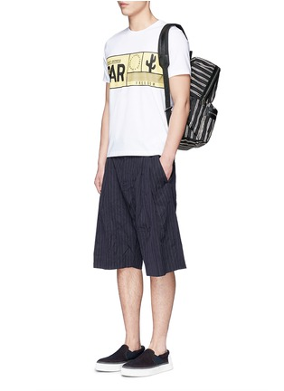 Figure View - Click To Enlarge - KENZO - Travel tag print T-shirt