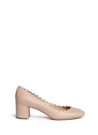 首图 - 点击放大 - CHLOÉ - 波浪鞋口纳帕皮高跟鞋