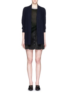 VINCEWool-cashmere open front cardigan