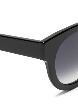 Detail View - Click To Enlarge - Thierry Lasry - 'Celebrity' chunk round acetate sunglasses