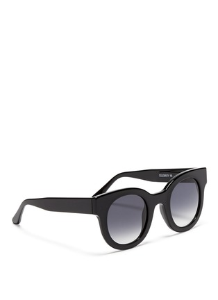 Figure View - Click To Enlarge - Thierry Lasry - 'Celebrity' chunk round acetate sunglasses