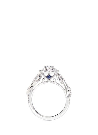 Figure View - Click To Enlarge - VERA WANG LOVE - East Meets West - Diamond Engagement Ring