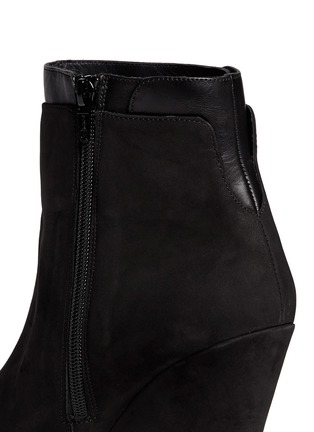 Detail View - Click To Enlarge - Vince - 'Ludlow' leather cuff suede boots