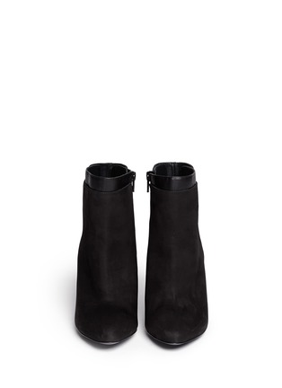 Figure View - Click To Enlarge - Vince - 'Ludlow' leather cuff suede boots