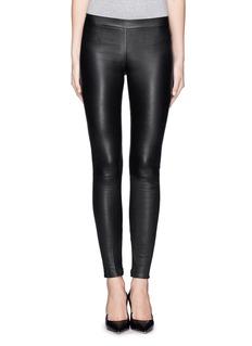 VinceLamb leather leggings