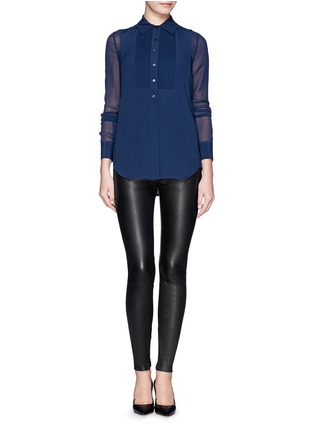 Figure View - Click To Enlarge - Vince - Lamb leather leggings