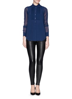 Vince Lamb leather leggings