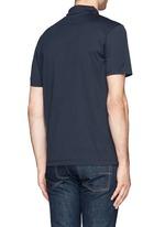 Cotton jersey polo shirt