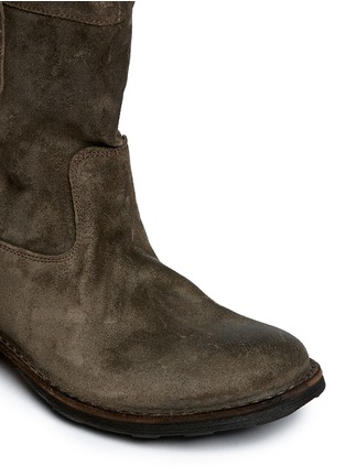 Detail View - Click To Enlarge - FIORENTINI+BAKER - 'Enola' Eternity suede boots