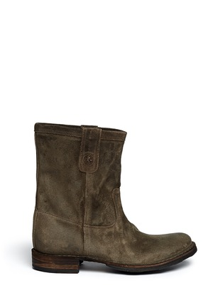 Main View - Click To Enlarge - FIORENTINI+BAKER - 'Enola' Eternity suede boots