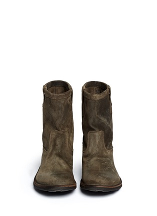 Figure View - Click To Enlarge - FIORENTINI+BAKER - 'Enola' Eternity suede boots