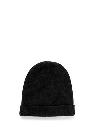Figure View - Click To Enlarge - Maison Michel - 'Maison Michel' rib wool beanie