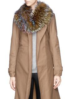 HOCKLEY'Freesia' feather fox fur snood