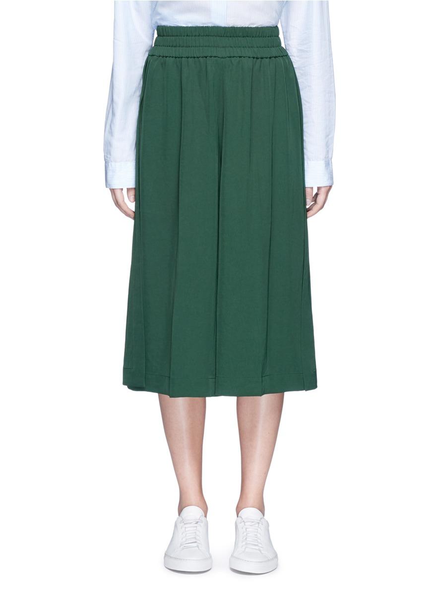 Imri Asian fit elastic waist culottes by Acne Studios