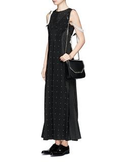 Calvin Klein CollectionPolka dot silk crepe de Chine dress