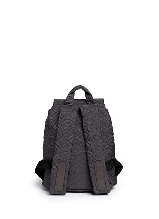 Back View - Click To Enlarge - See by Chloé - 'Bisou' small logo stitch backpack