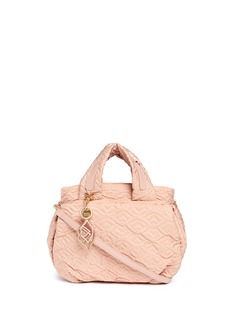 See by Chloé 'Bisou' logo stitch shoulder bag
