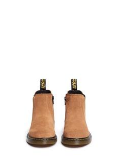 Dr. Martens'Banzai' suede kids Chelsea boots