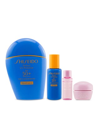 Main View - Click To Enlarge - Shiseido - Perfect UV Protector Set