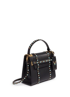 VALENTINO 'My Rockstud Rolling' small cabochon stud leather bag