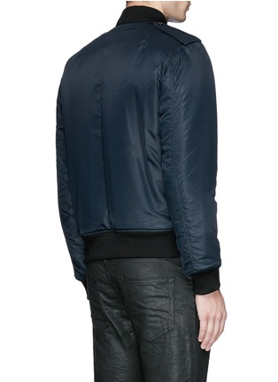 Back View - Click To Enlarge - Saint Laurent - 'MA-1' bomber jacket