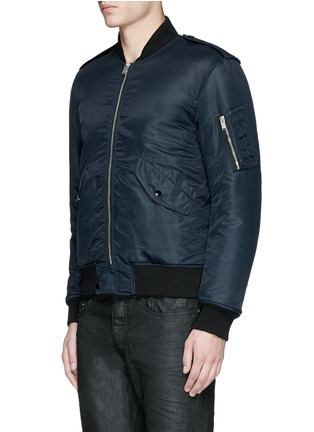 Front View - Click To Enlarge - Saint Laurent - 'MA-1' bomber jacket