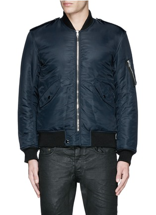 Main View - Click To Enlarge - Saint Laurent - 'MA-1' bomber jacket