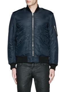 Saint Laurent'MA-1' bomber jacket
