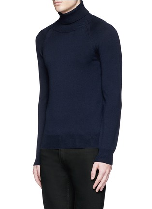 Front View - Click To Enlarge - Saint Laurent - Turtleneck wool sweater