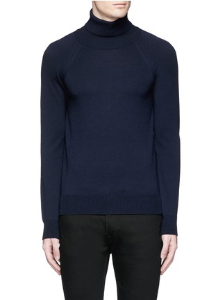 Main View - Click To Enlarge - Saint Laurent - Turtleneck wool sweater