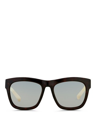 Main View - Click To Enlarge - 3.1 Phillip Lim - Tortoiseshell effect acetate square sunglasses