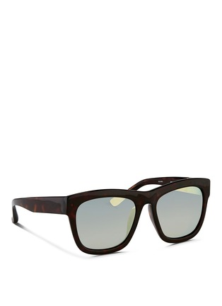 Figure View - Click To Enlarge - 3.1 Phillip Lim - Tortoiseshell effect acetate square sunglasses