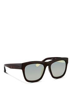 3.1 PHILLIP LIMTortoiseshell effect acetate square sunglasses