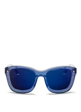 Main View - Click To Enlarge - 3.1 Phillip Lim - Mounted lens acetate D-frame sunglasses