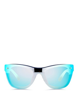 3.1 Phillip Lim - Mounted lens acetate D-frame sunglasses