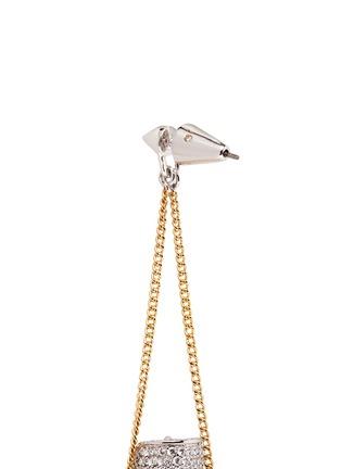 细节 - 点击放大 - EDDIE BORGO - SIBYL晶石链条吊坠耳环
