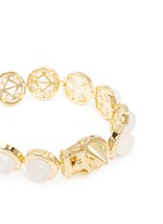 Gemstone dome bracelet