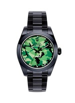Rolex Milgauss camouflage oyster perpetual watch