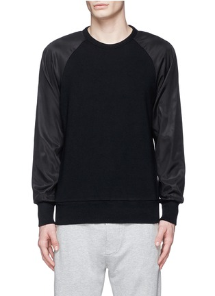 rag & bone-'Flint' reverse back sweatshirt