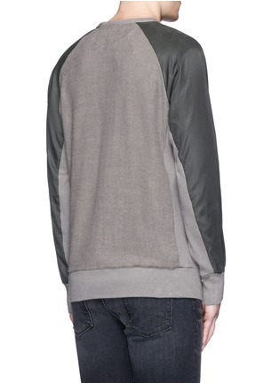 rag & bone - 'Flint' reverse back sweatshirt