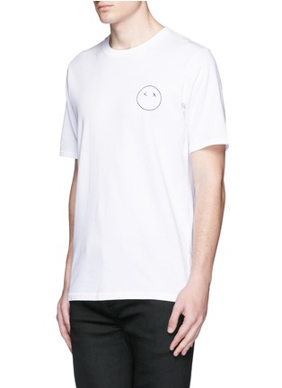 Front View - Click To Enlarge - rag & bone - 'Sour Face' embroidery T-shirt