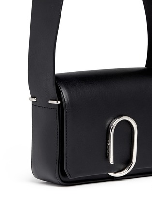 Detail View - Click To Enlarge - 3.1 Phillip Lim - Alix' mini paperclip flap leather shoulder bag