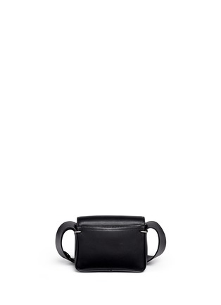 Back View - Click To Enlarge - 3.1 Phillip Lim - Alix' mini paperclip flap leather shoulder bag
