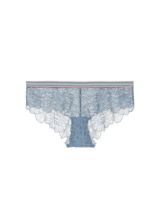 Love Stories - 'Dragonfly' stripe elastic waist lace boyshorts