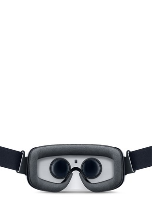 Back View - Click To Enlarge - Samsung - Gear VR - White