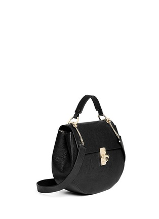 Figure View - Click To Enlarge - Chloé - 'Drew' medium pebbled leather shoulder bag